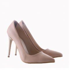 Topuklu Ayakkabı Ten Rengi