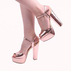 Abiye Ayakkabı Modelleri, Dolgu Topuklu Abiye