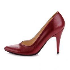 Bordo Stiletto Ayakkabı