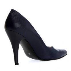 Lacivert Stiletto Kadın Ayakkabı Ma-004