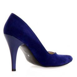 Gece Mavisi Topuklu Ayakkabı