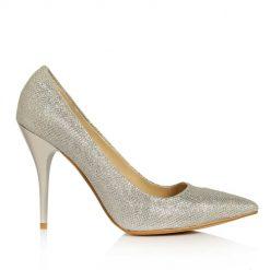 Simli Topuklu Ayakkabı