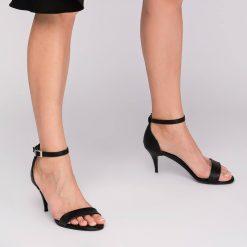 Siyah İnce Topuklu Ayakkabı Ra-085