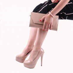 Ten Ayakkabı Çanta Kombin Rugan RC-008