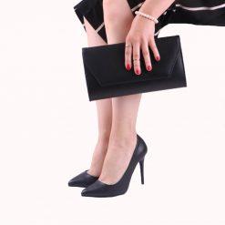 Siyah Ayakkabı Çanta Takımları Deri RC-023